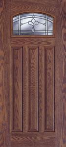 Carmel Craftsman Fiberglass Door