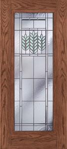 Heartland Full Lite Fiberglass Door