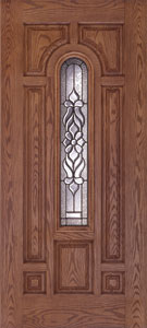 lakewood center arch fiberglass door