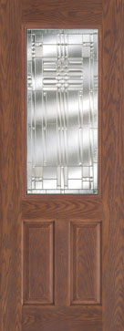 Monroe 8\u0027 Fiberglass Door & Feather River Doors | Monroe