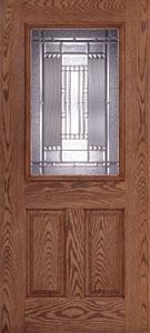 Preston Half Lite Fiberglass Door & Feather River Doors | Preston