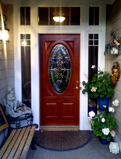In Real Life - Silverdale Exterior Door